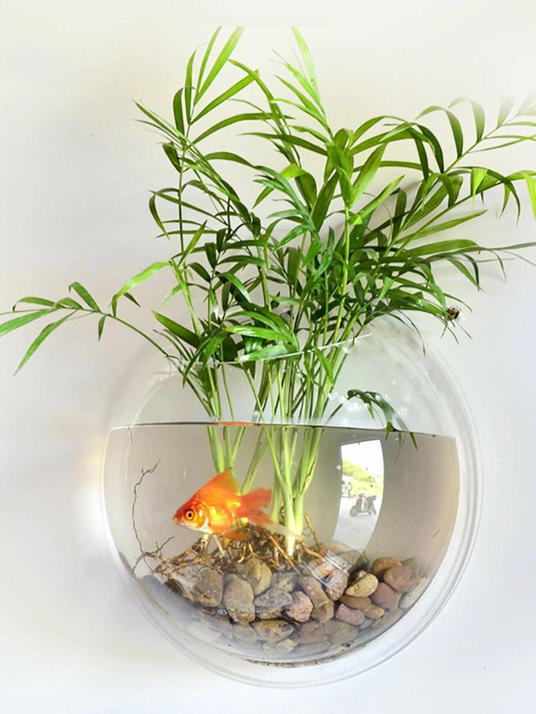 Pin By Noor Saad On Houses Materials Fish Tank Wall Fish Tank Plants Wall Aquarium