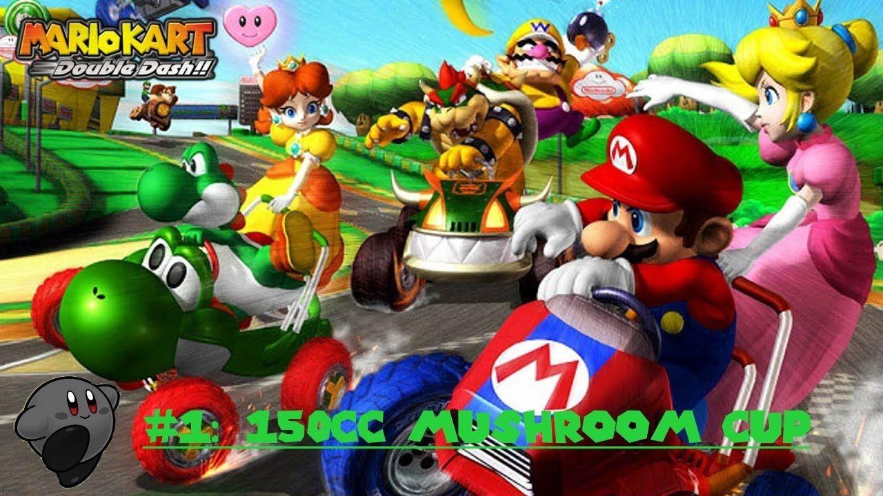 Mario Kart Double Dash Playthrough 1 150cc Mushroom Cup