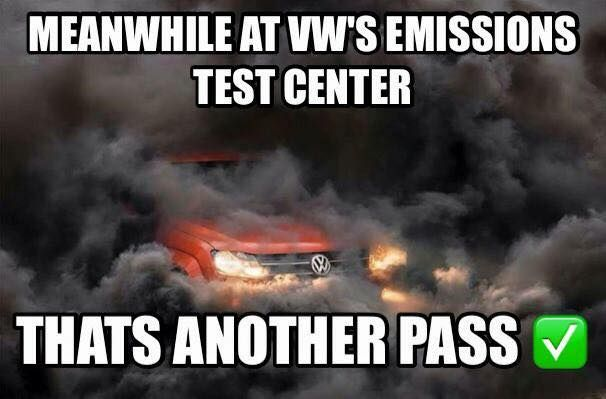 Meanwhile at VW... #funny #lol Click the photo to see more!