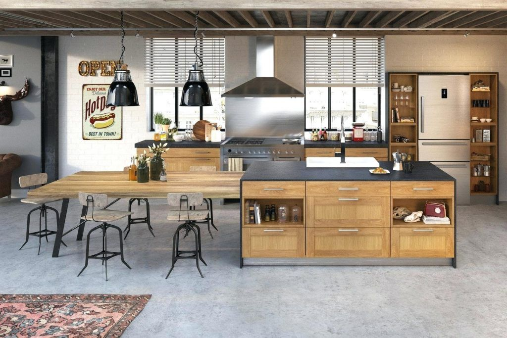 Design D Interieur Hotte Aspirante Industrielle Design Style