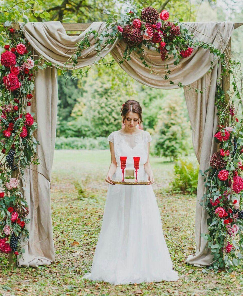 Unique stunning wedding backdrop ideas 41