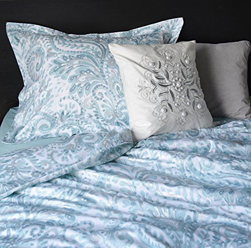 Tahari Home Turquoise Pascal Aquarelle Paisley 3pc Duvet ... https ...