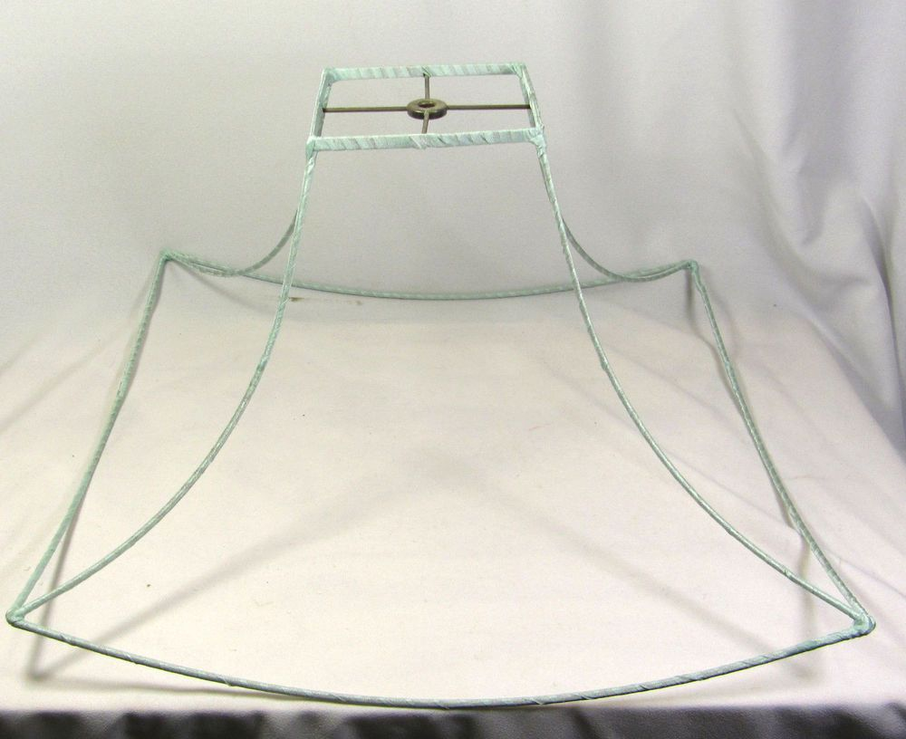 Lamp shade wire frame for table floor pendant lamp chinese pagoda lamp shade wire frame for table floor pendant lamp chinese pagoda square bell greentooth Image collections