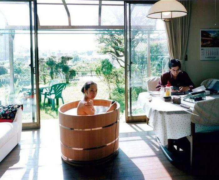 JAPANESE WOODEN OFURO TUB | Wooden bathtub, Bathtubs and Tubs