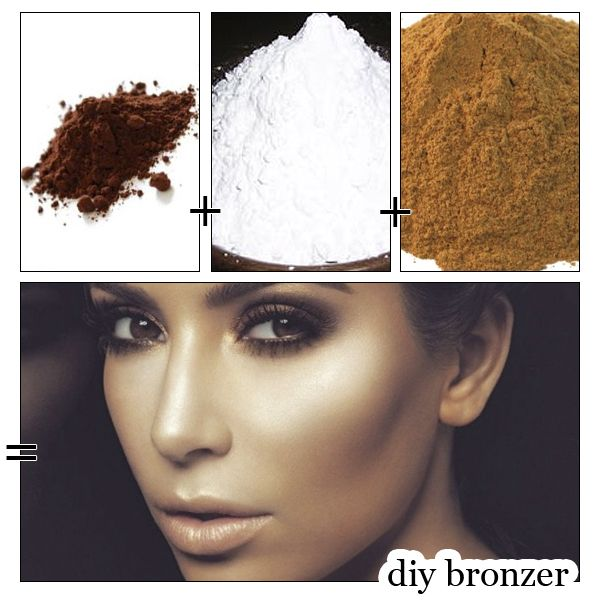 DIY HOW TO MAKE YOUR OWN BRONZER! (Less than £1!) -- #beauty #makeup #contour #bronzer <3