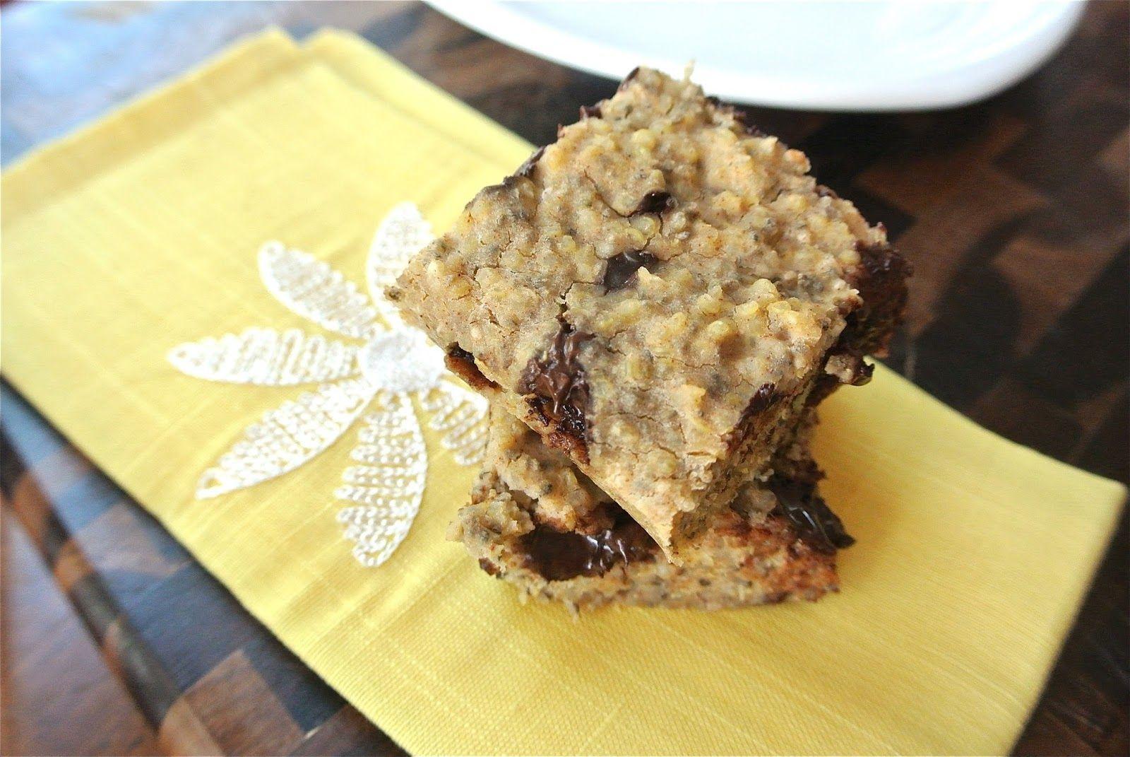 Gluten Free Dark Chocolate Quinoa Bars | Quinoa bars, Dark ...