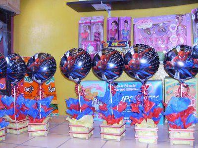 Centros De Mesa Para Fiestas Infantiles 7th Birthday Party Ideas
