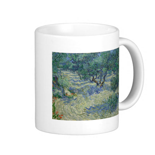 Olive Orchard by Vincent Van Gogh Mugs