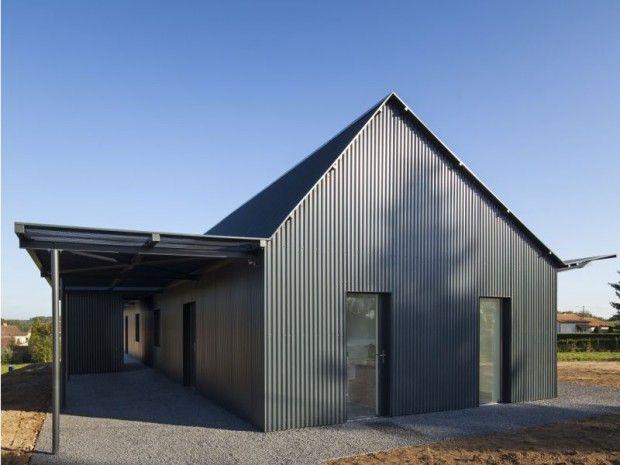 Enveloppe métallique - prix de construction d une maison