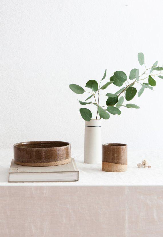 AFFILIATELINK | Keramik Set SAND / Keramik Schüssel, Keramik Tasse /  Keramik Hundenapf, Skandinavisch, Desu2026 | Dekoration | DIY, Modern U0026  Minimalistisch ...