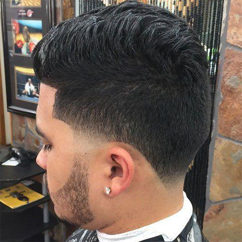 Blow Out Taper Fade Blowout Haircut Fade Haircut Blowout Hair