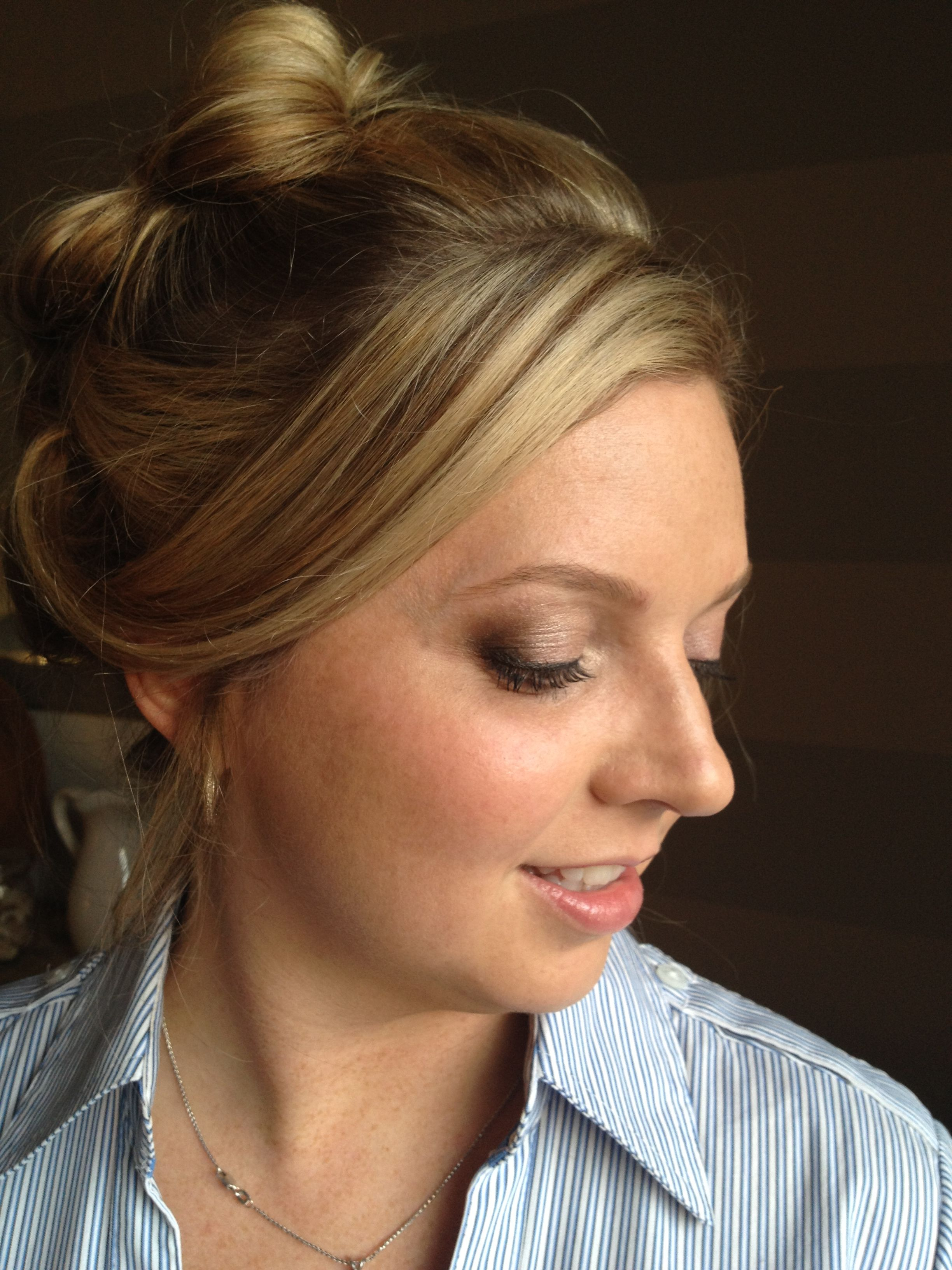 Trial Makeup Will Do False Lashes For The Wedding Day Dental