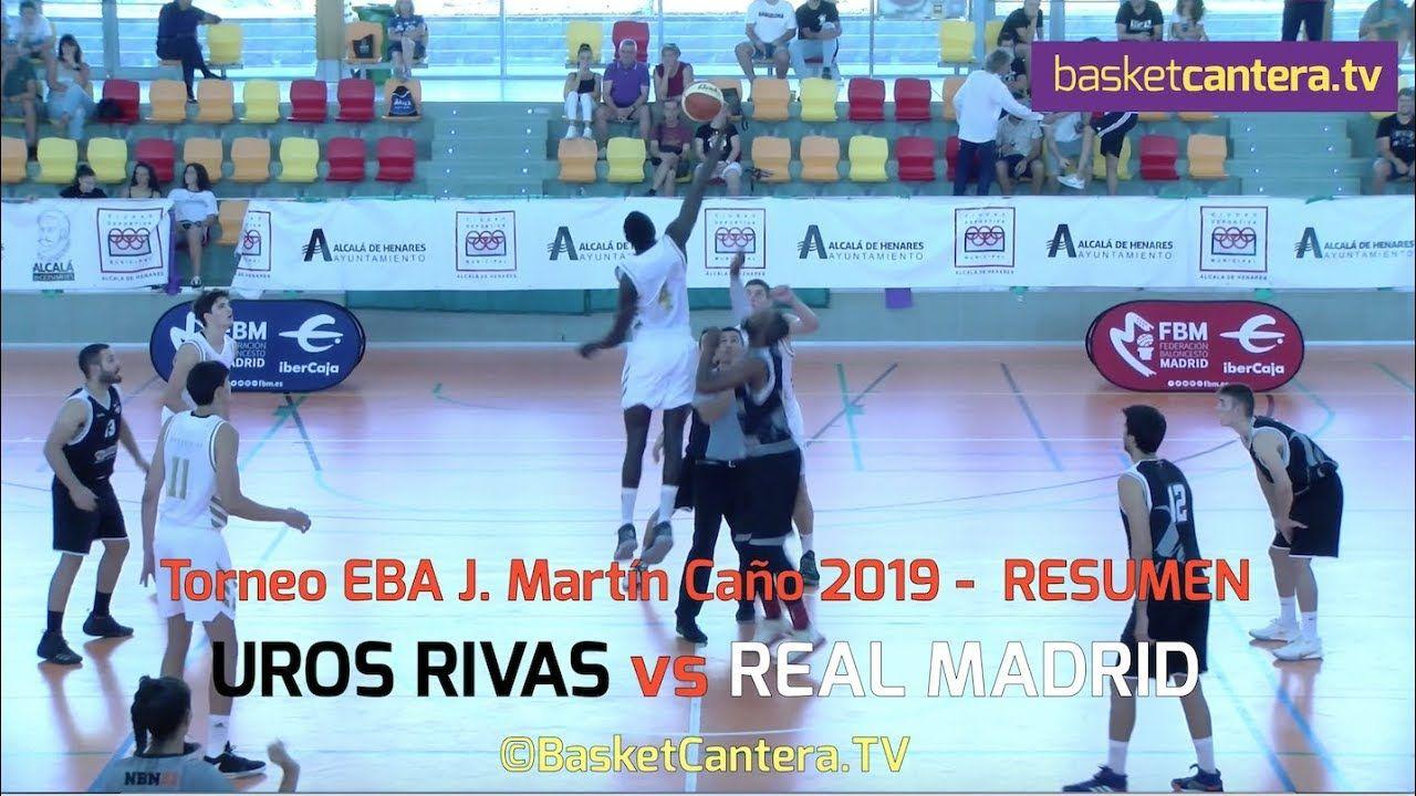 EBA UROS RIVAS vs. REAL MADRID (Resumen) Torneo J