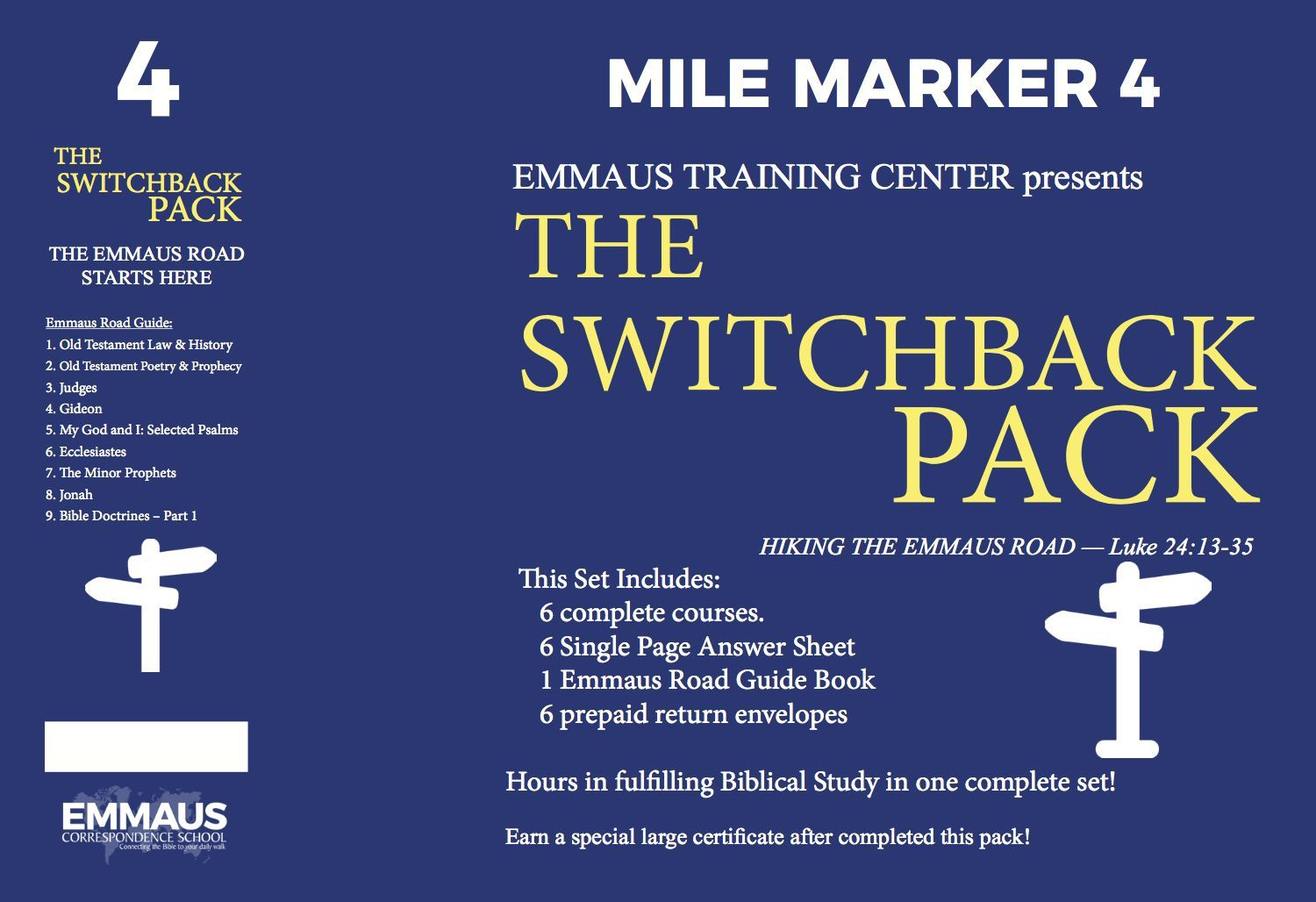Mile Mark 4 – The Switchback Pack