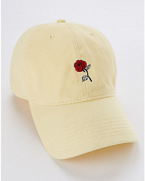 fd9371a02af Rose I Only Date Beasts Dad Hat - Beauty and the Beast - Spencer s ...