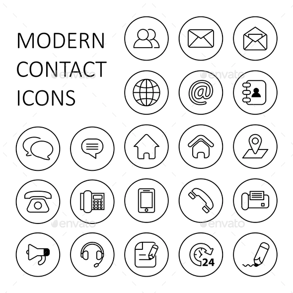 Contact Us Icons Icones Cv Picto Instagram Cartes De Visite Originales