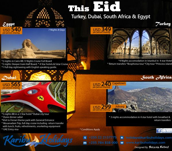 Eid : Holiday offers.  a4 artwork used as E-flyer and print