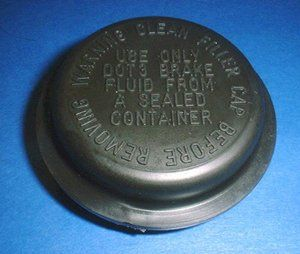 C4 Corvette 1984 1991 Master Cylinder Cap So The Cap For Your Master Cylinder Is Leaking Or Maybe It Was Lost And Someone Replac Corvette Cylinder Brake Fluid