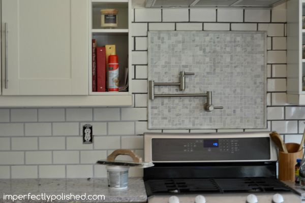 Re Grouting Tile White Subway And Marble Backsplash