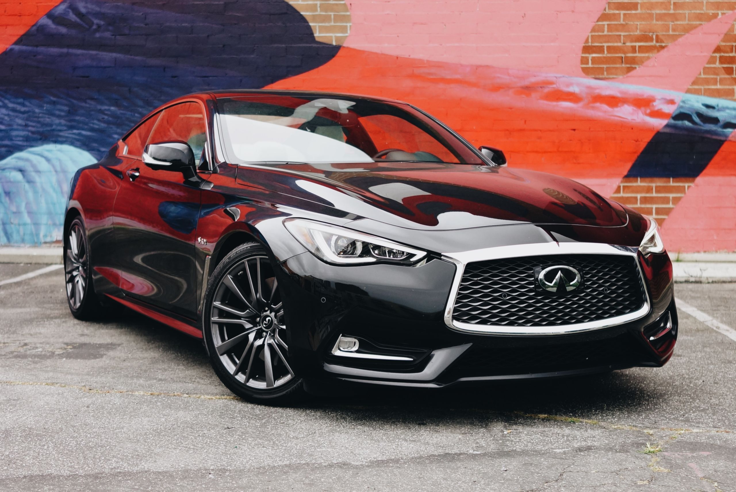 Infiniti S Q60 Red Sport Points Their Performance Line In The Right Direction Infiniti Super Luxury Cars Luxury Cars