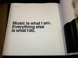 couldn't live without music