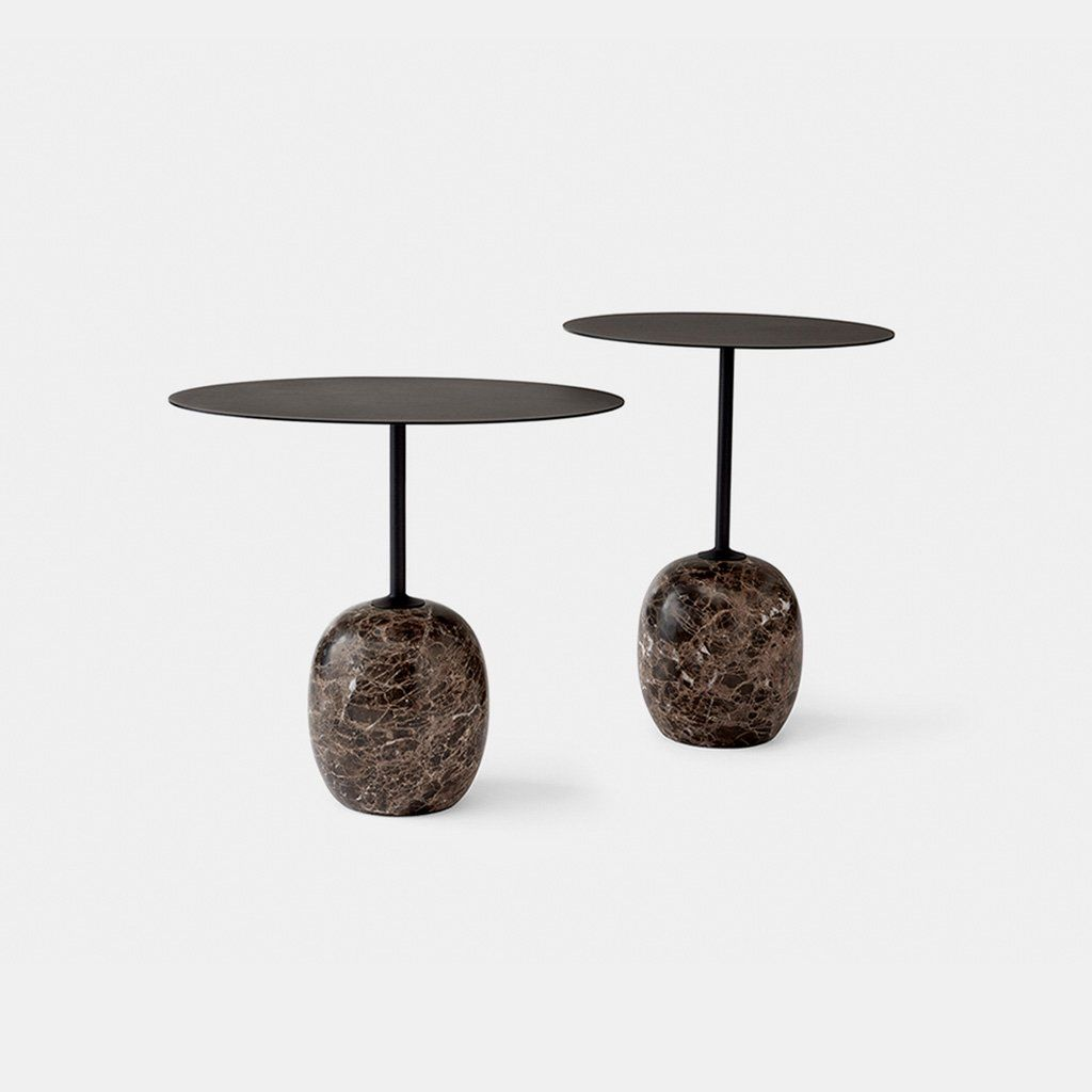 Lato Side Tables Emperador Marble Table Coffee End Tables