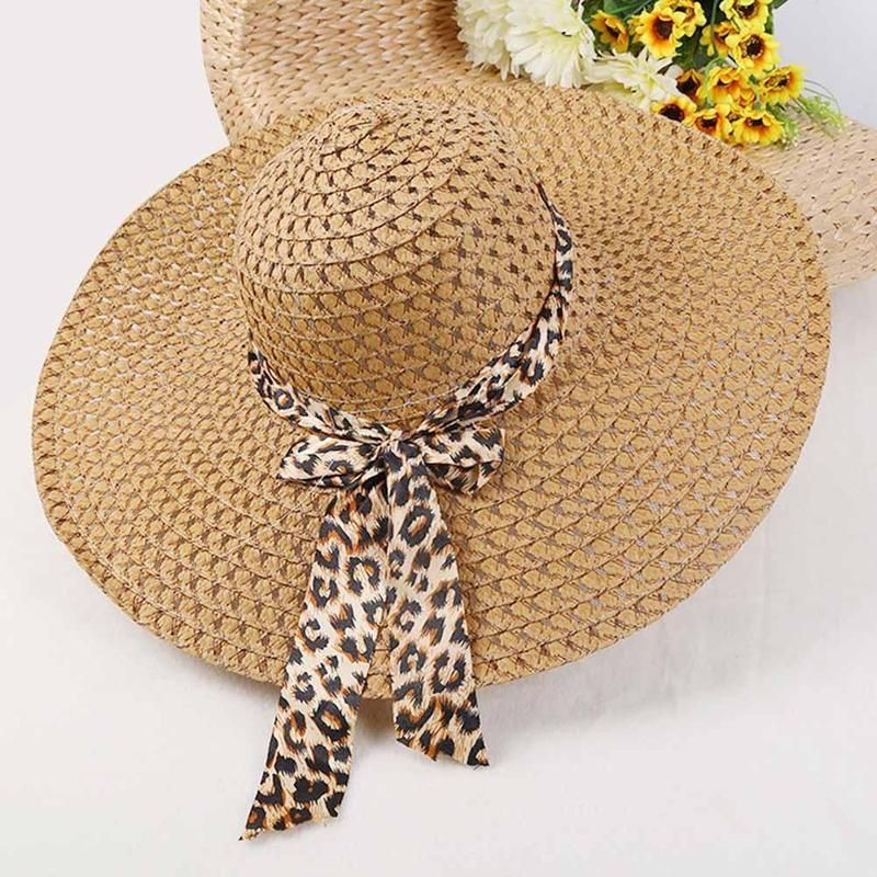 72763dbd2d8 BTLIGE New Women Beach Hat Lady Derby Cap Wide Brim Floppy Fold Summer  Bohemia Sun Straw Hat Dropshipping-in Sun Hats from Women s Clothing    Accessories on ...