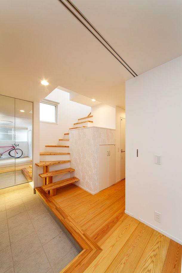 無垢フローリングで作られた家 間取り ローコスト 低価格住宅