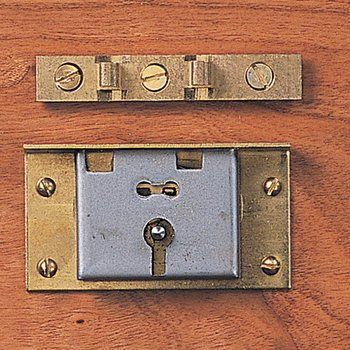 Half Mortise Box Locks Solid Brass Trunk Locks With Iron Mechanism For Wood 3 4 Thick And Up From 17 00 Mortise Lock Old Chairs Brass
