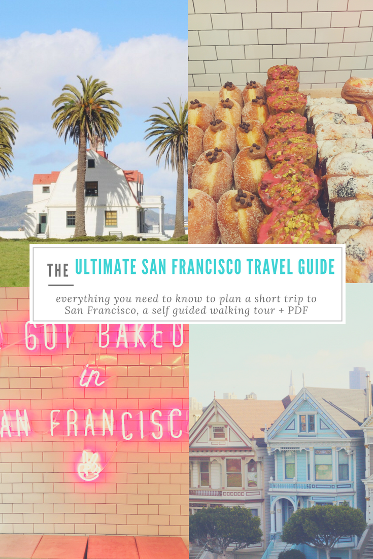 San Francisco Map Attractions Pdf%0A Two Day Itinerary for San Francisco   Short trip  Golden gate bridge and San  francisco
