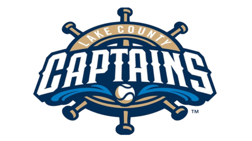 The Logo Of The Minor League Baseball Team Lake County Captains Was Inspired By Lake County Captain Minor League Baseball