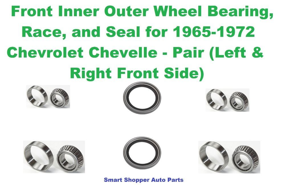 PAIR Front Left And Right Wheel Bearing /& Seal fit 1990 1991 1992 1993 1994 1995 1996 1997 LEXUS LS400