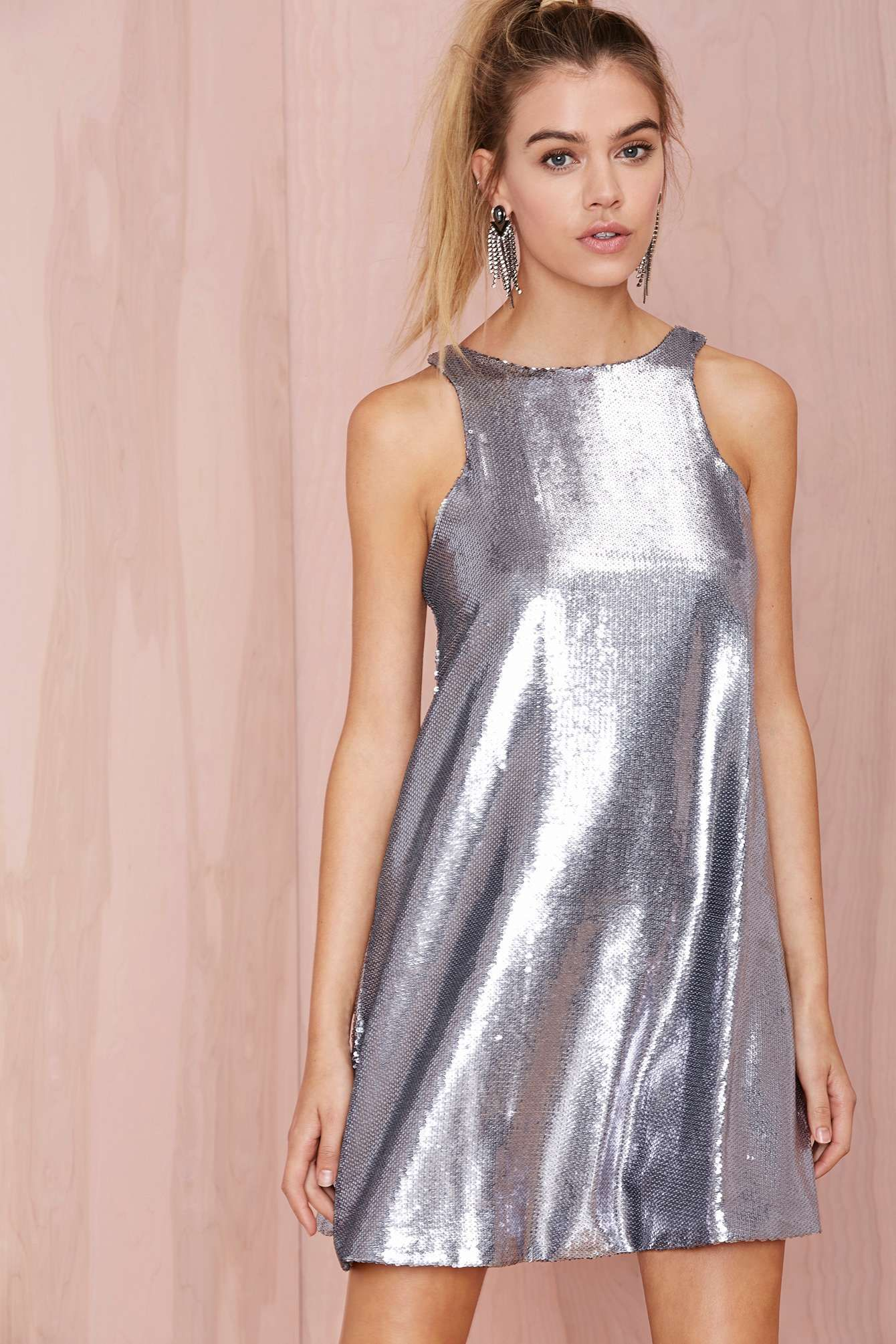 Glamorous Countdown Sequin Shift Dress | Shop Dresses at Nasty Gal ...