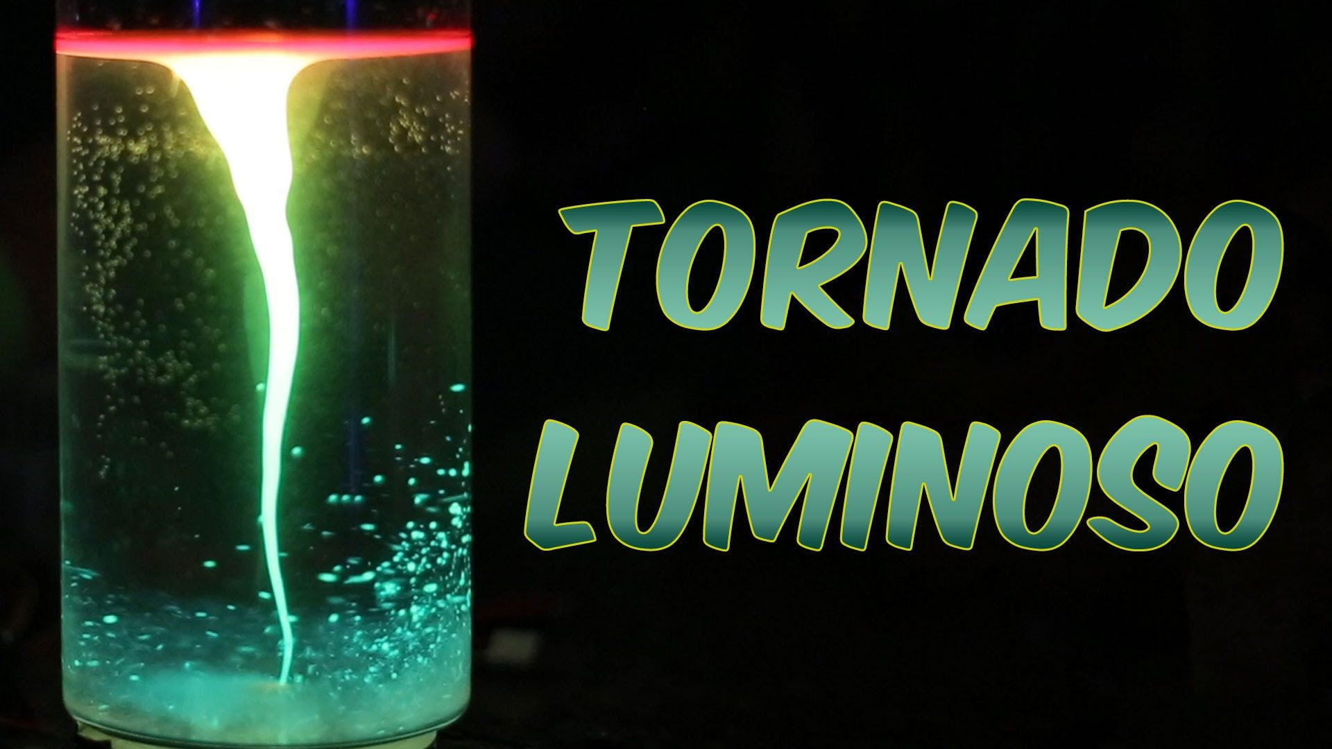 Como Fazer Um Tornado Luminoso Experiencia De Quimica E Fisica
