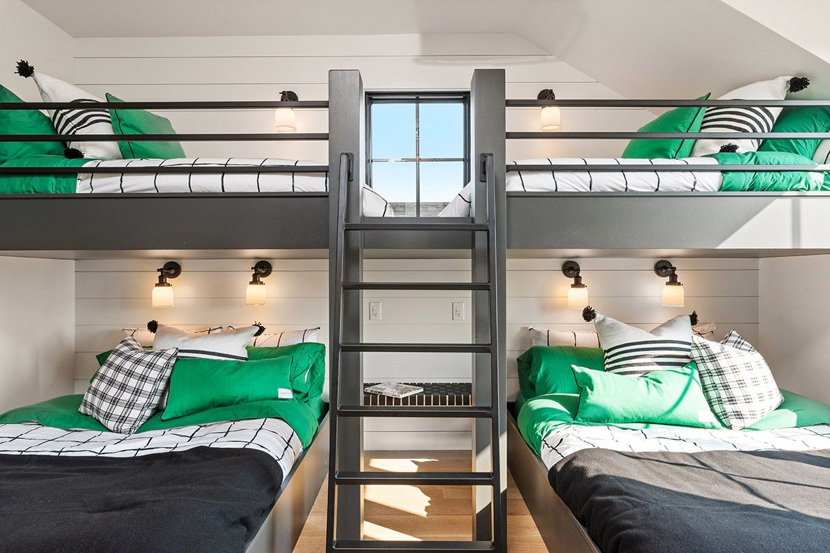 Parade of Homes 2018 - Design Trends | Bunk beds, Space bedding, Loft spaces