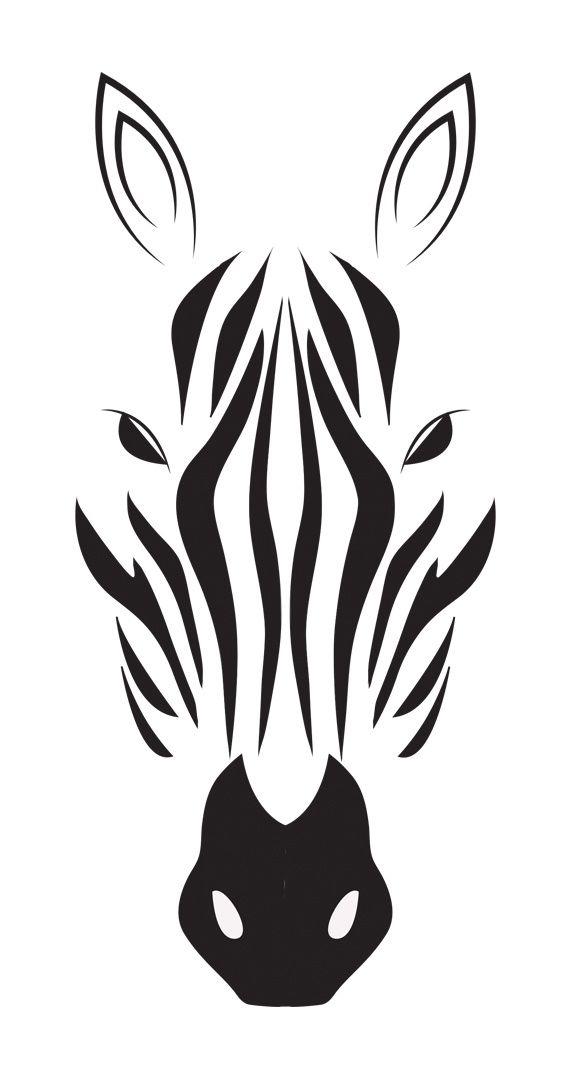 Zebra Drawing In Black White Indulgy Tats Zebra Drawing