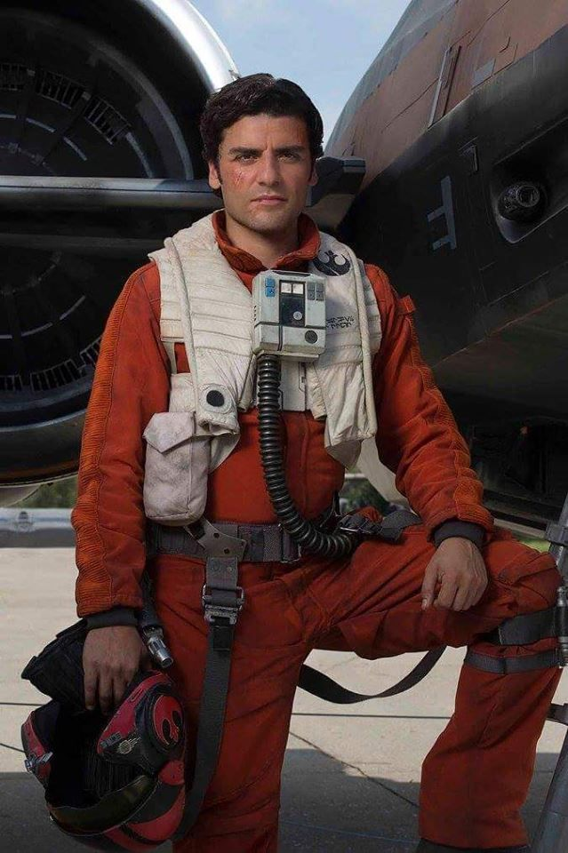 Poe Dameron. where does this picture come form it's beautiful.