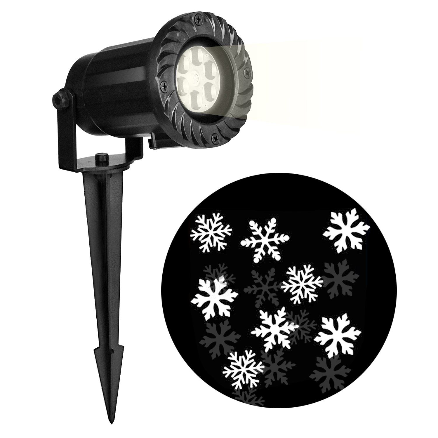Christmas Projector Light,Decoration Christmas Light,Snowflakes ...