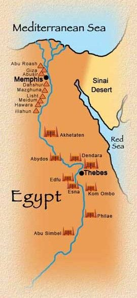 Pyramids In Egypt Map.Map Of Egyptian Temples And Pyramids Finished 2017 18 School Year