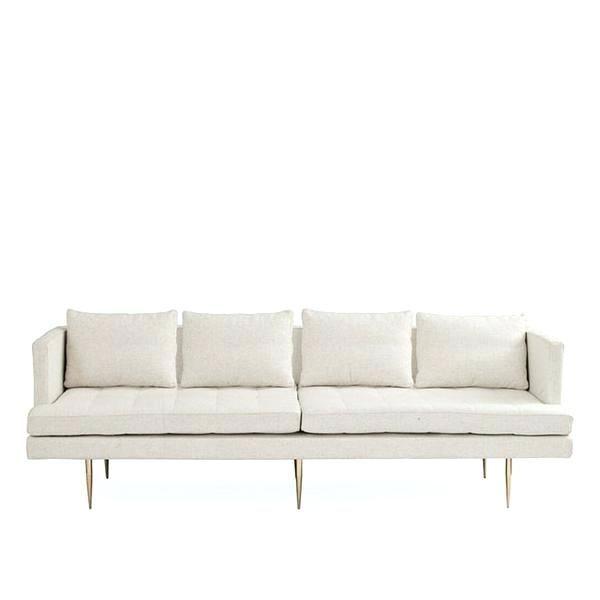 Leather Mid Century Modern Sofa Mid Century Modern Leather Sofa