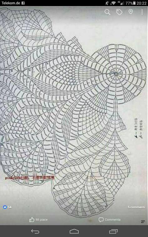Mail Tiscali | mandalas tapetes paños ganchillo | Napperon crochet ...
