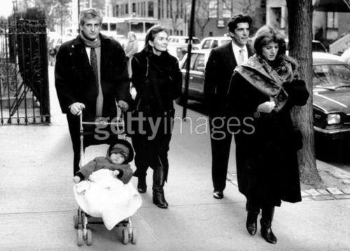 Ed, Jackie, John & Caroline & Baby Rose