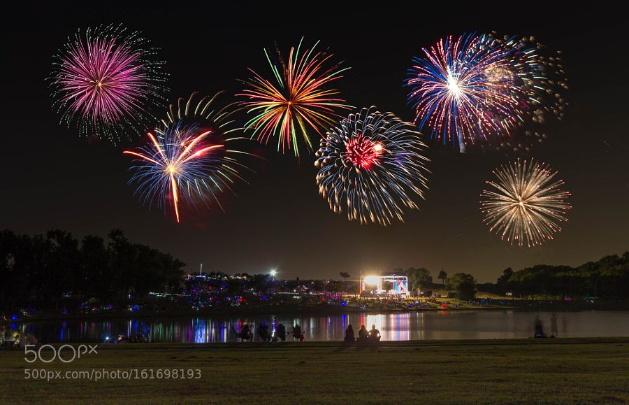 Enjoying the Fireworks by baonguyen9 #architecture #building #architexture #city #buildings #skyscraper #urban #design #minimal #cities #town #street #art #arts #architecturelovers #abstract #photooftheday #amazing #picoftheday
