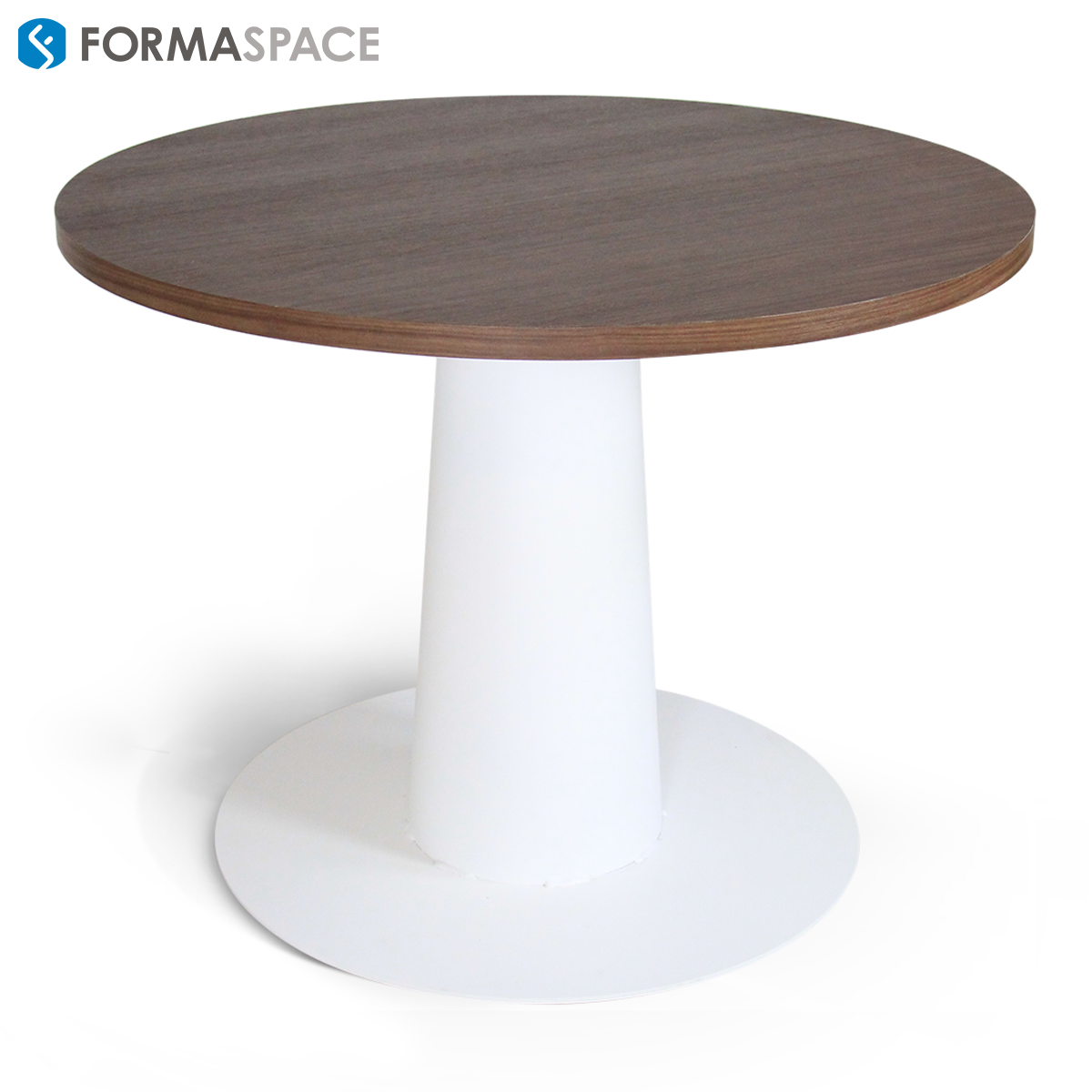 Piece Round Meeting Table FORMASPACE Fundboxs Small - Round conference table for 4