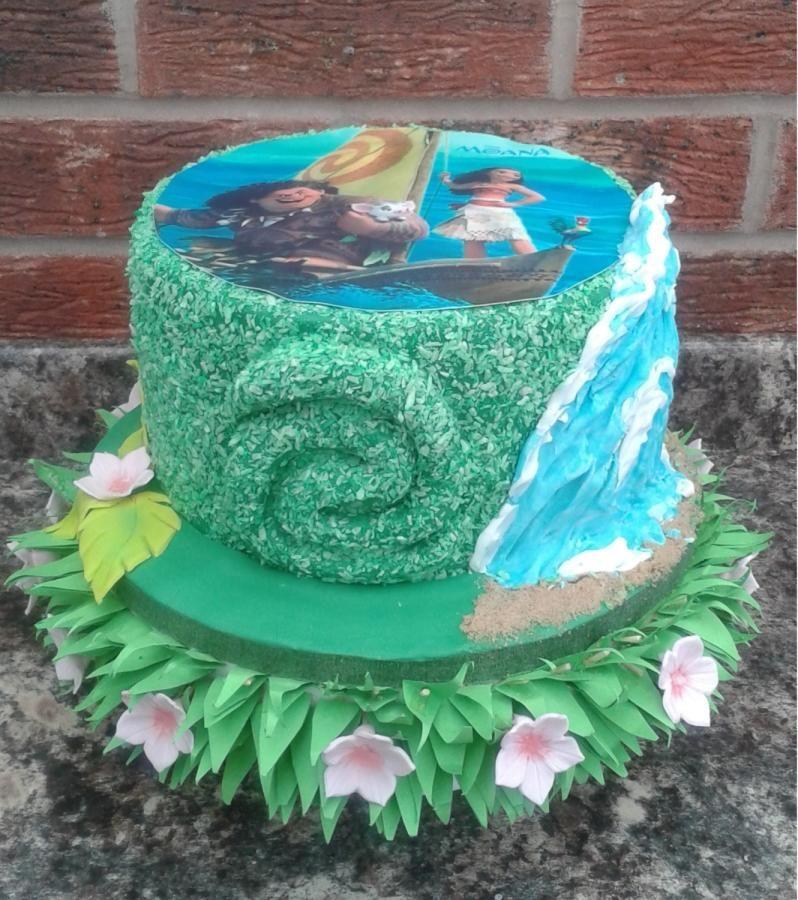 Moana Cake By Karen S Kakery