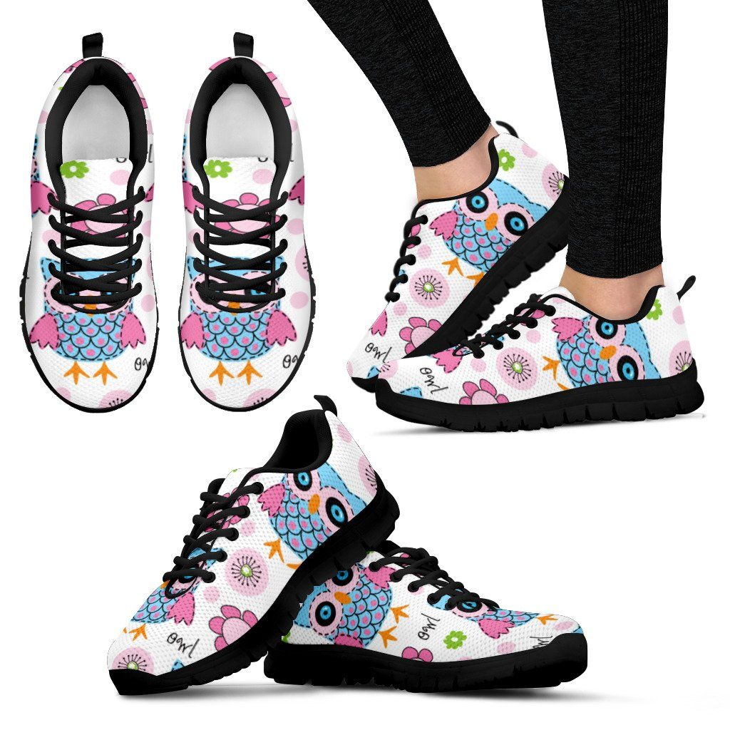 White Owl Sneakers Casual Trainers Sports Shoes Sneakers