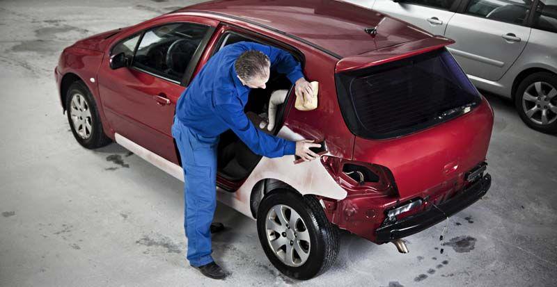 Advantage Collision Car dent repair, Auto body repair