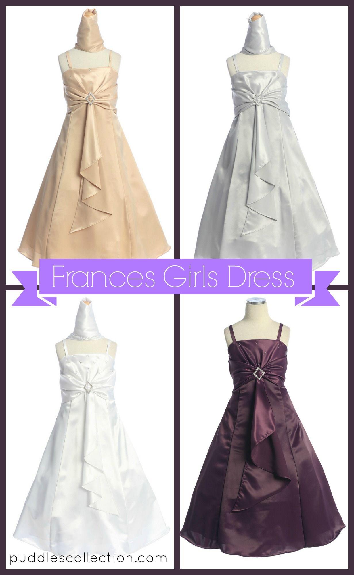 Frances girls dress kidsu formal wear pinterest girls dresses