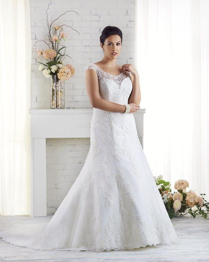 1520 Unforgettable Collection Plus Size Bridal Gowns Bonny Bridal