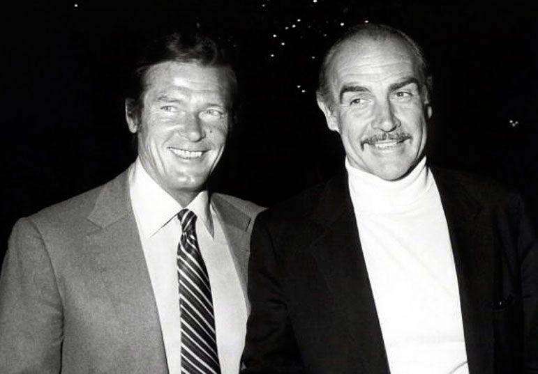 Roger Moore Sean Connery 49090a7d453d69f399f8af072db55b ...